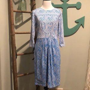 J. McLaughlin dress 3/4 length sleeve